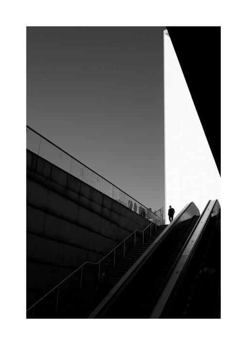 Photographie de rue Paris La Défense