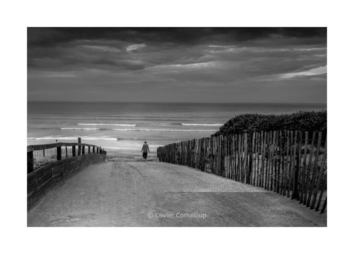 Biscarrosse août 2020 la plage