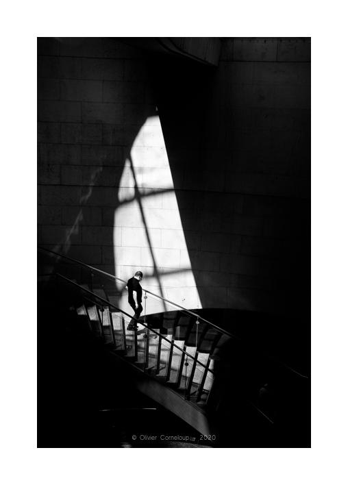 Street photography metro Paris