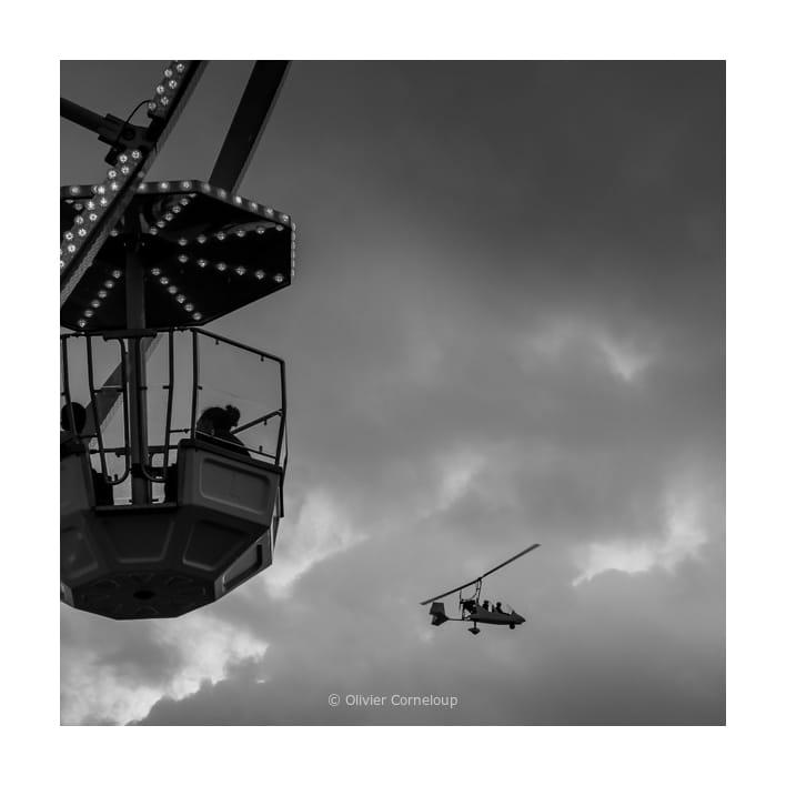 ULM et grande roue Biscarrosse 2020
